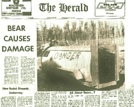 Mack Herald cover Oct 9, 1974