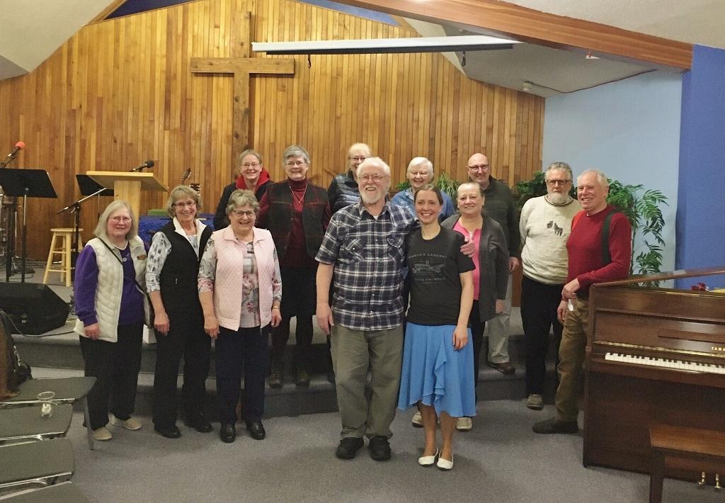 Alison Kilgannon at Baptist Church