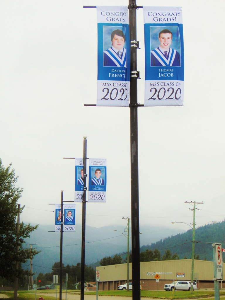 MSS 2020 Grad banners