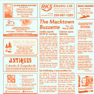 Mackenzie BC news & advertising